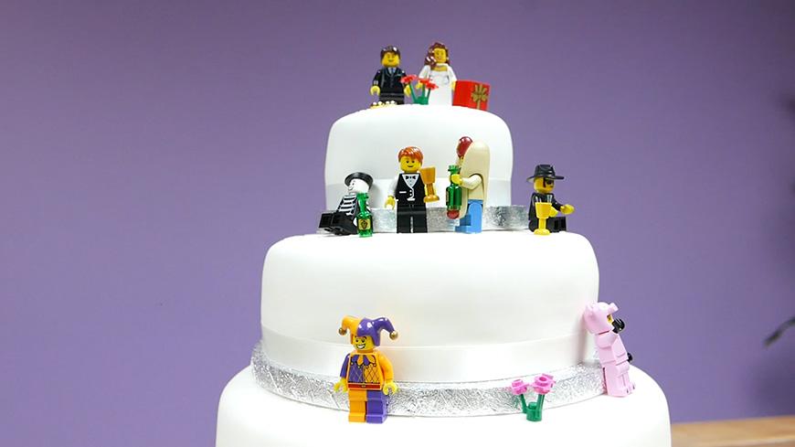 Creating A Diy Wedding Cake With Lego Chwv