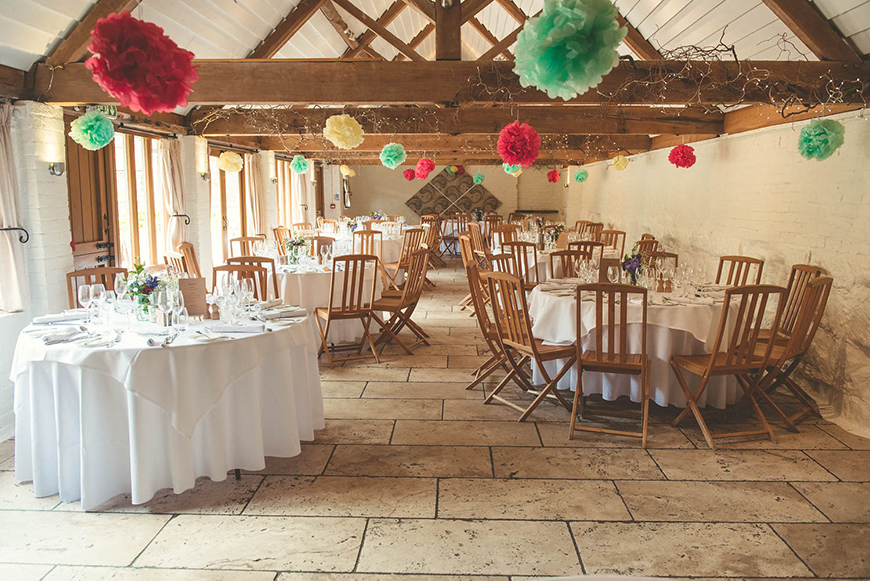 Curious About Curradine Barns - The spectacular reception settings | CHWV