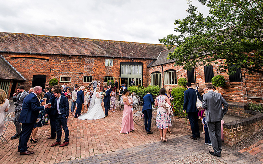 10 Incredible Wedding Venues In the West Midlands - Curradine Barns | CHWV