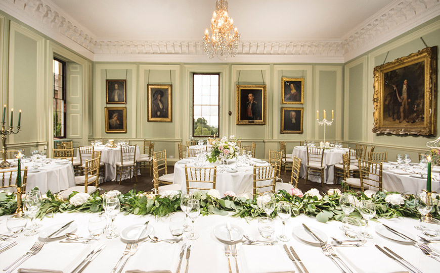 9 Glamorous And Grand Wedding Venues That You Have To See - Davenport House | CHWV