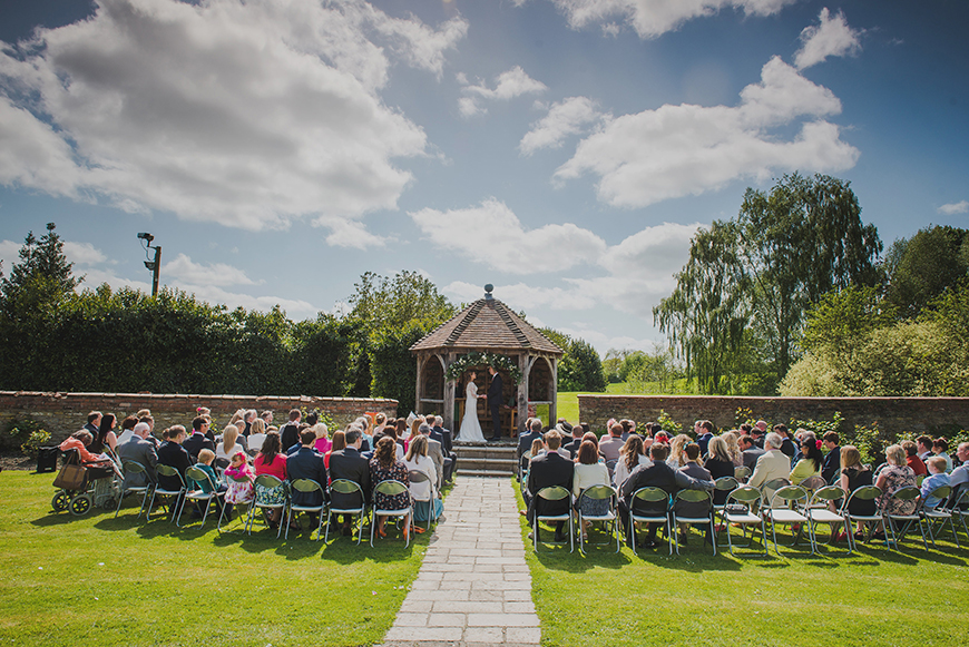 8 All-In-One Wedding Venues That Are Perfect For Summer - Delbury Hall | CHWV