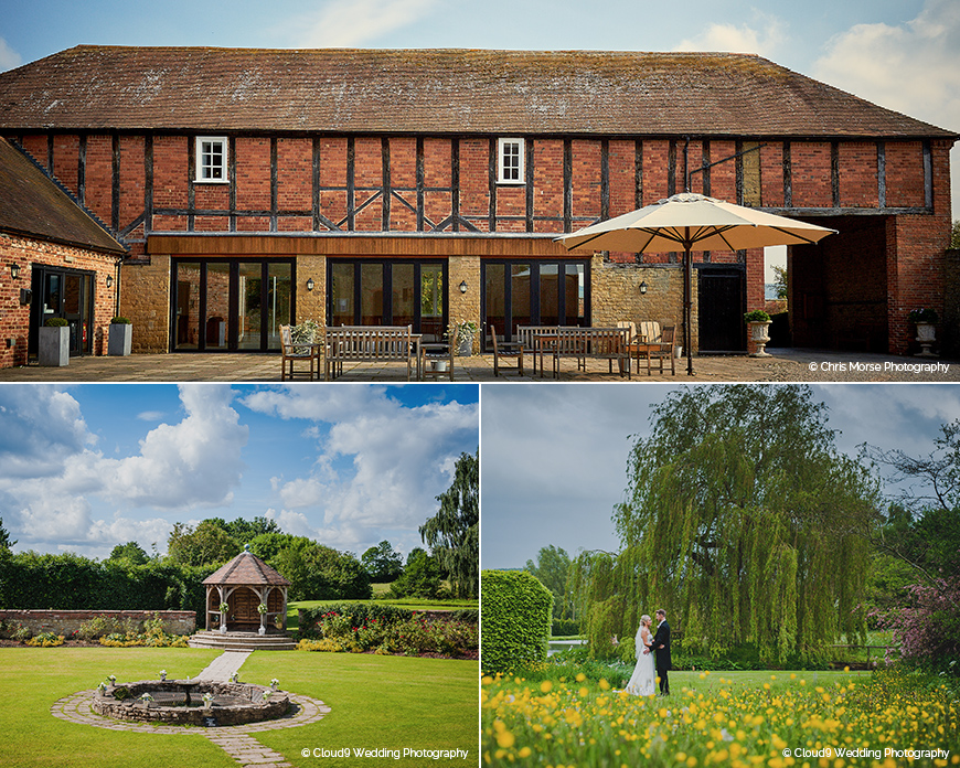 Delbury Hall - Barn wedding venue in Shropshire