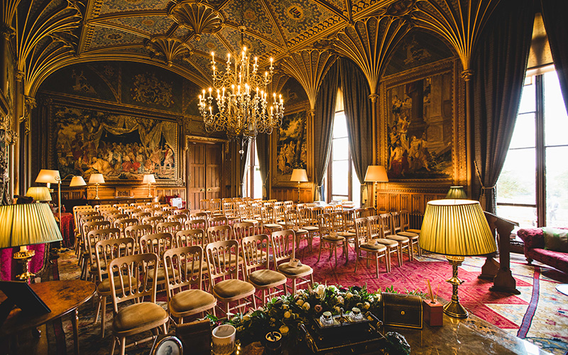 Castle Wedding Venues Herefordshire Eastnor Castle Chwv