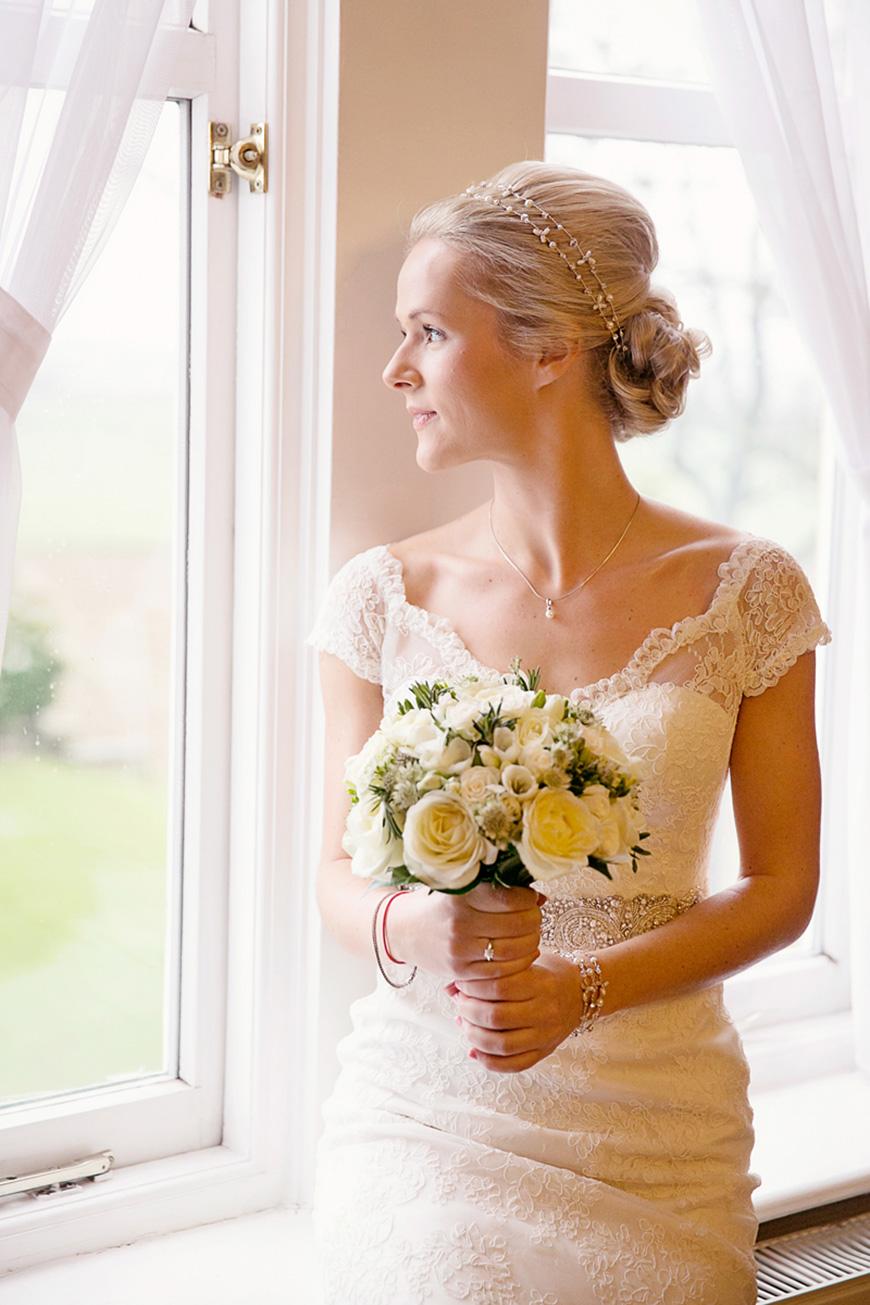 A Winter Woodland-Inspired Wedding in Lancashire - Dress | CHWV