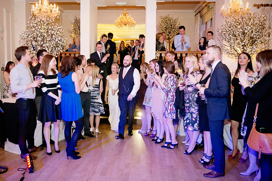 A Winter Woodland-Inspired Wedding in Lancashire - First dance | CHWV