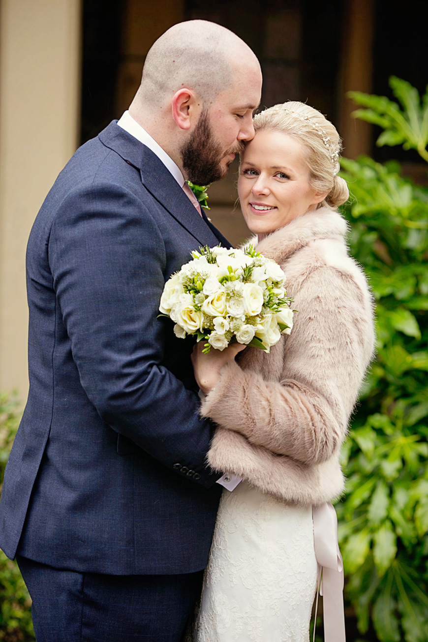 A Winter Woodland-Inspired Wedding in Lancashire - Outfits | CHWV