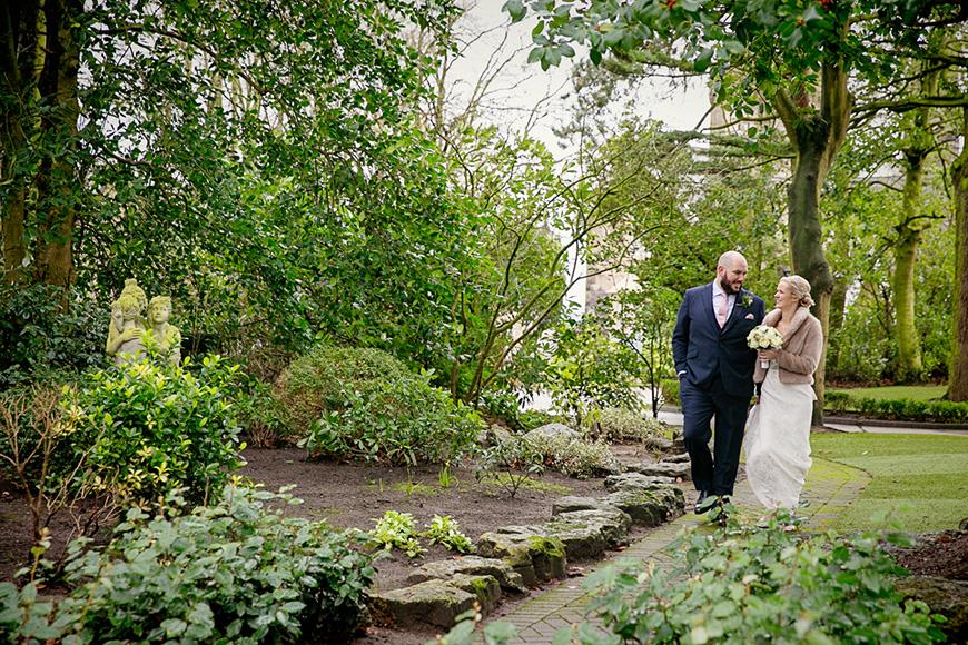 A Winter Woodland-Inspired Wedding in Lancashire - Stroll | CHWV