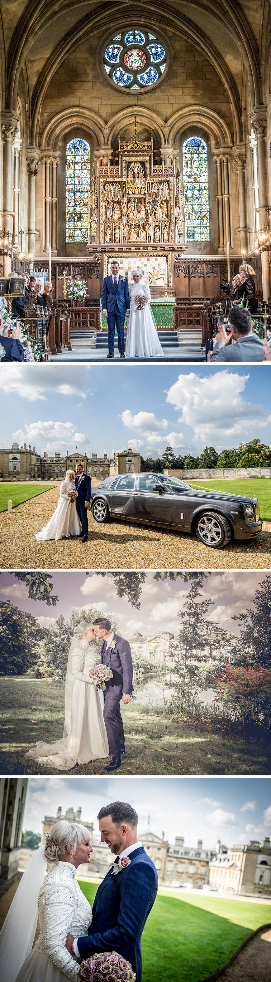 Real Wedding - Emma and James' Grand Wedding At Woburn Abbey | CHWV