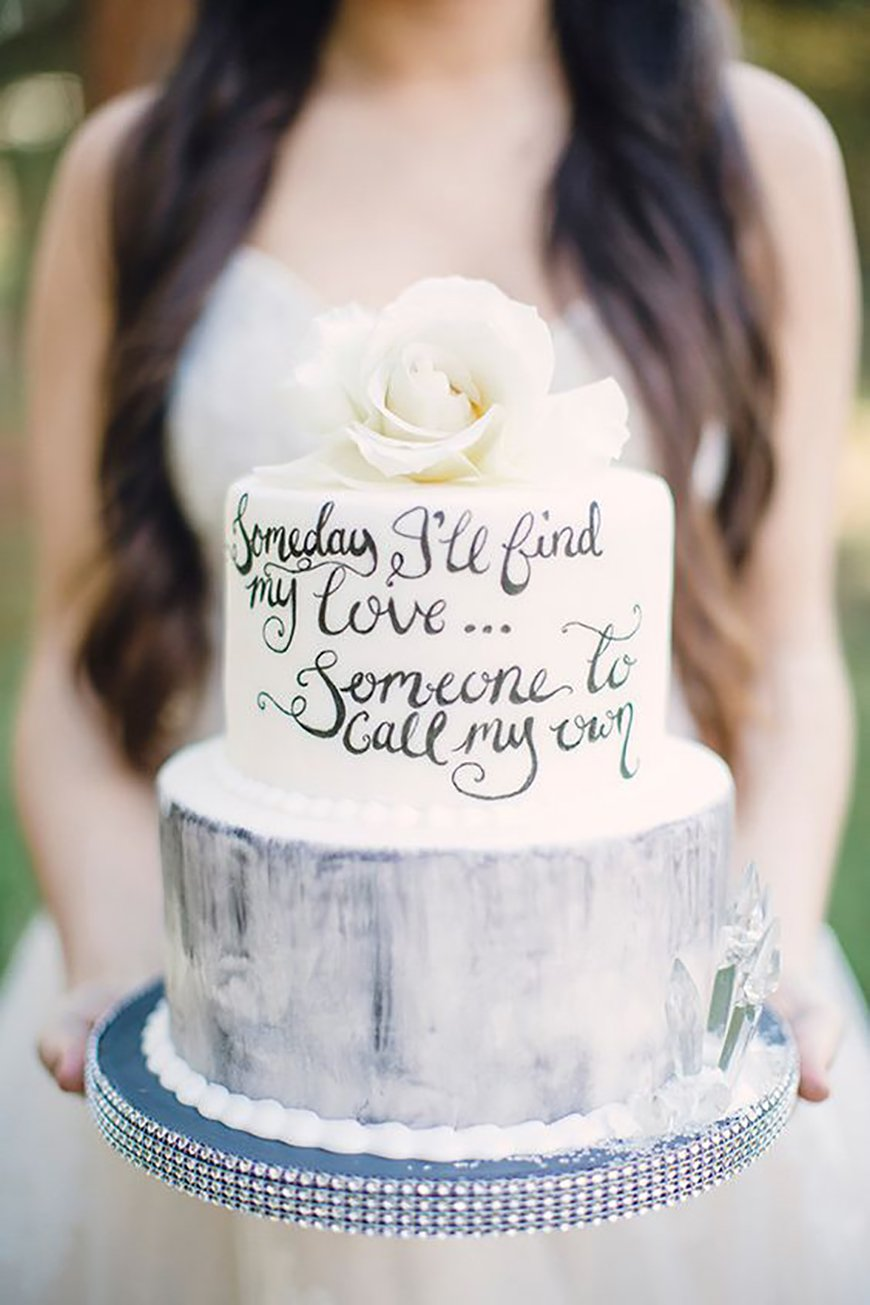 22 Wedding Cakes Fit for a Fairy Tale - Princess bride | CHWV