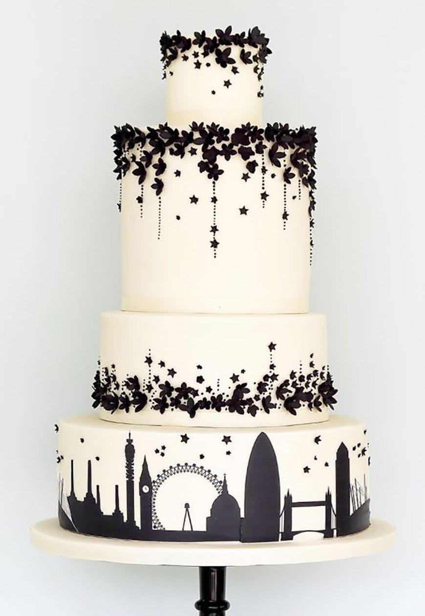 22 Wedding Cakes Fit for a Fairy Tale - Story of our lives | CHWV