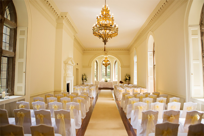 4 Fantastic Castle Venues for Your Summer Wedding - Clearwell Castle   CHWV