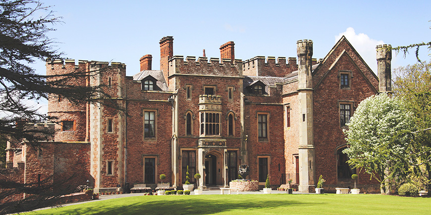 4 Fantastic Castle Venues for Your Summer Wedding - Rowton Castle | CHWV