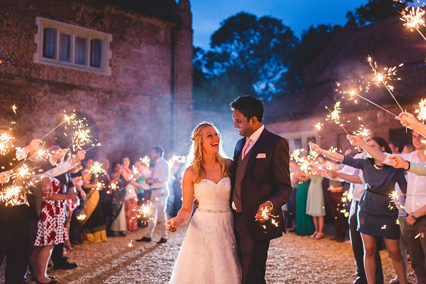 20 Festive Favours for a Winter Wedding - Sparklers | CHWV