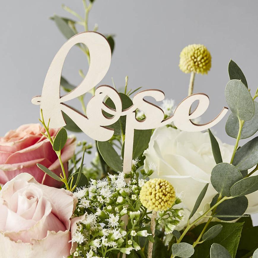 30 Amazing Wedding Table Name Ideas - Fantastic florals | CHWV