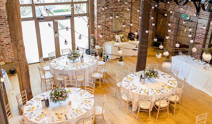 Perfect Wedding Venues For A Spring Wedding - Gaynes Park | CHWV