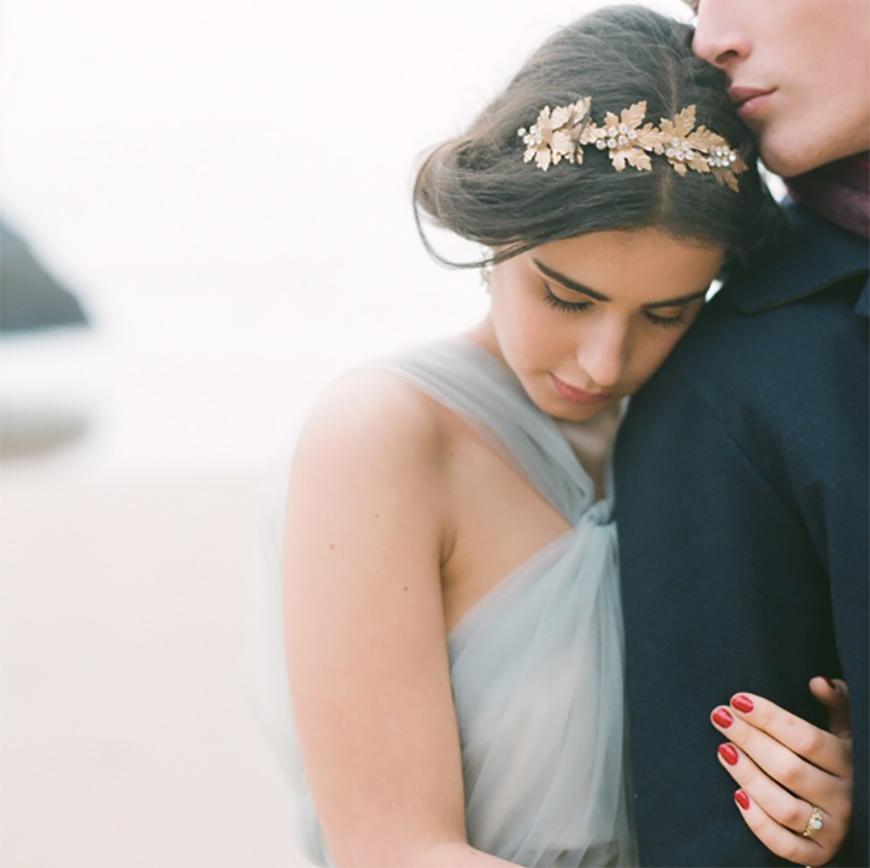 Wedding Ideas by Colour: Gold Hair Accessories - Grecian   CHWV