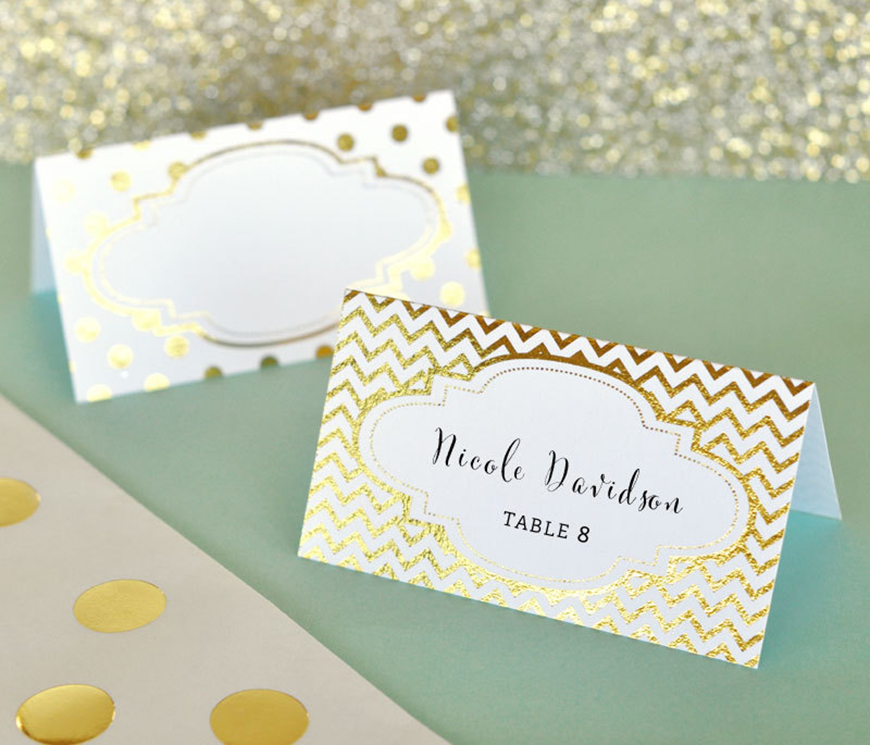Ideas For Place Cards At A Wedding: Wedding Ideas By Colour