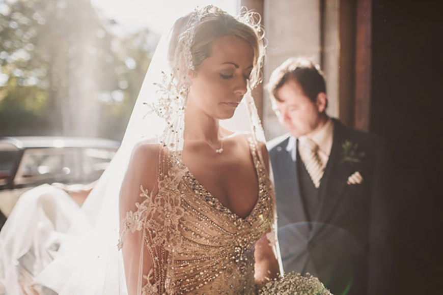 Weddings Ideas by Colour: Gold Wedding Theme - All dresses up