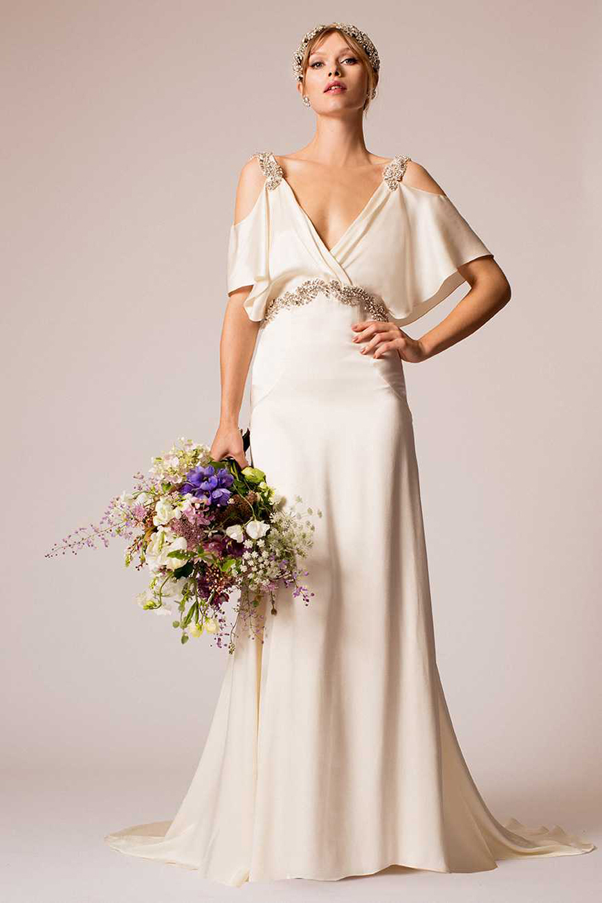 Wedding Ideas by Colour: Gold Wedding Dresses - City chic | CHWV