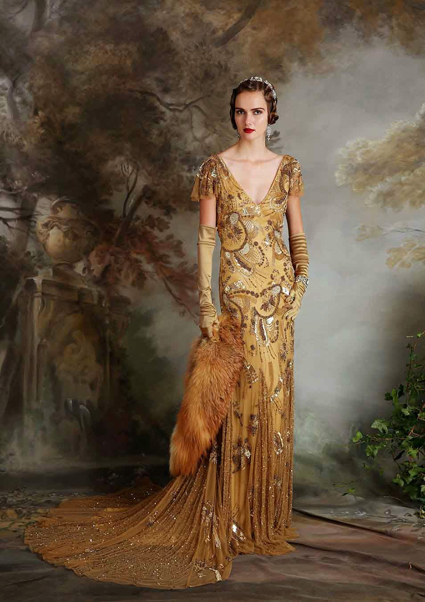Gold Wedding Dresses | CHWV