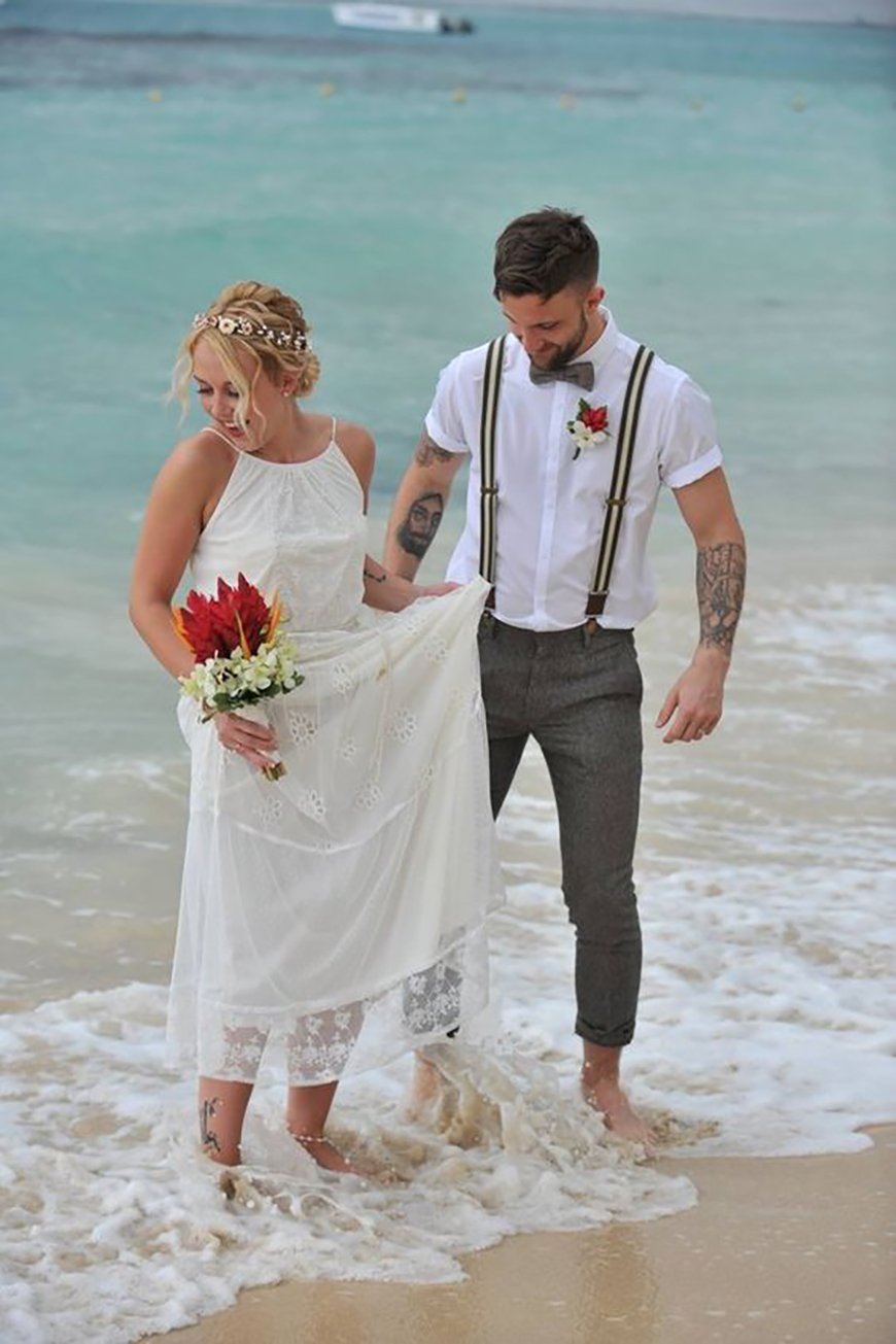 Wedding Ideas by Colour: Grey Wedding Suits - Braces and waitcoat   CHWV