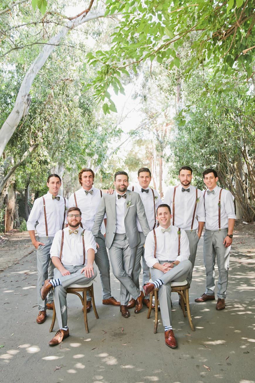 Wedding Ideas by Colour: Grey Wedding Suits - Summer choice | CHWV