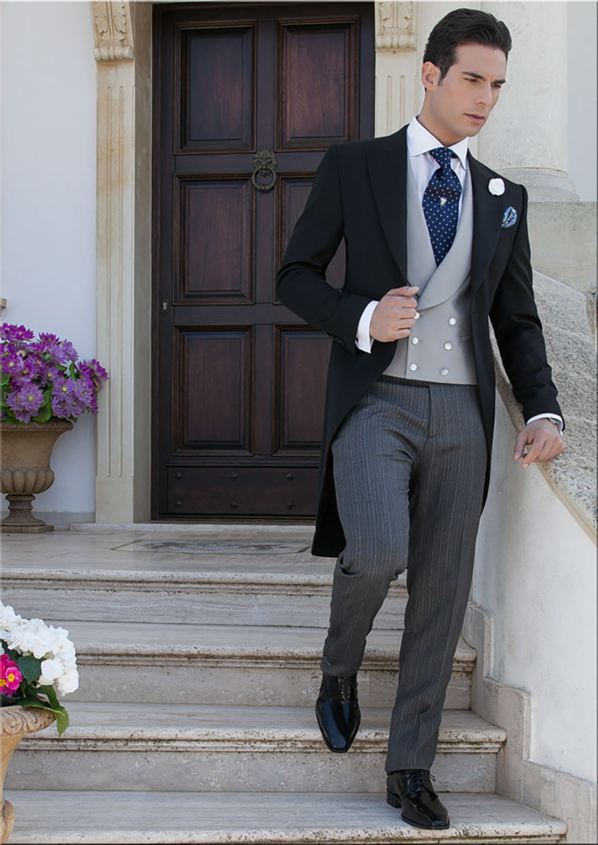 Grey Wedding Suits | Wedding Ideas By Colour | CHWV