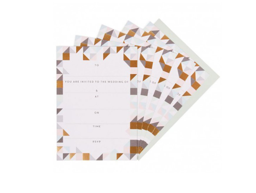 The Best High Street Wedding Stationery Ideas - Paperchase | CHWV