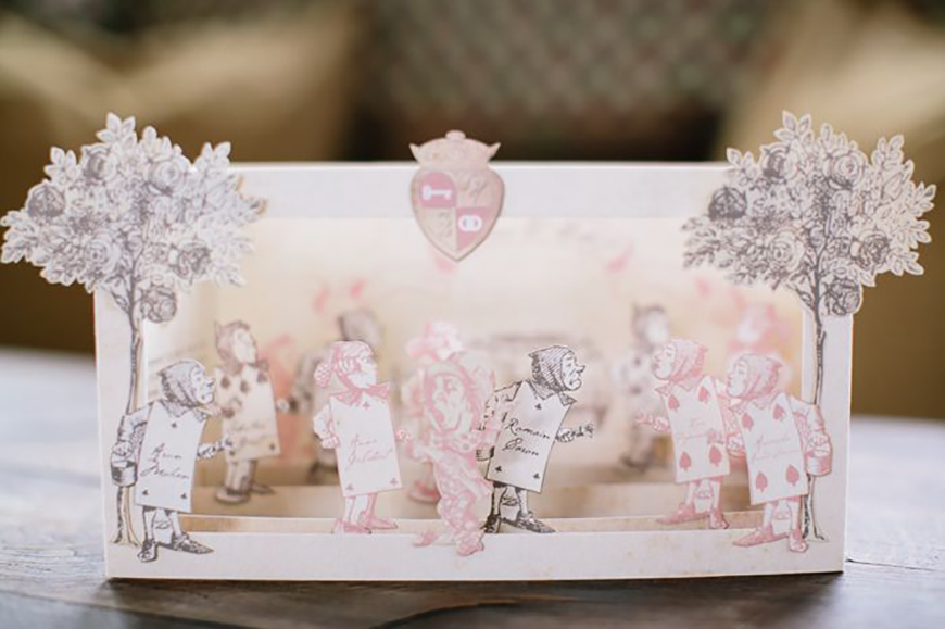 How To Create A Magical Alice In Wonderland Wedding Theme | CHWV