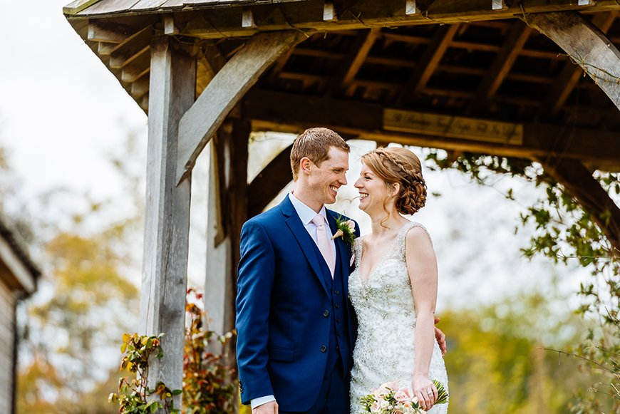 How To Get That Glorious Garden Wedding Theme - Mythe Barn | CHWV