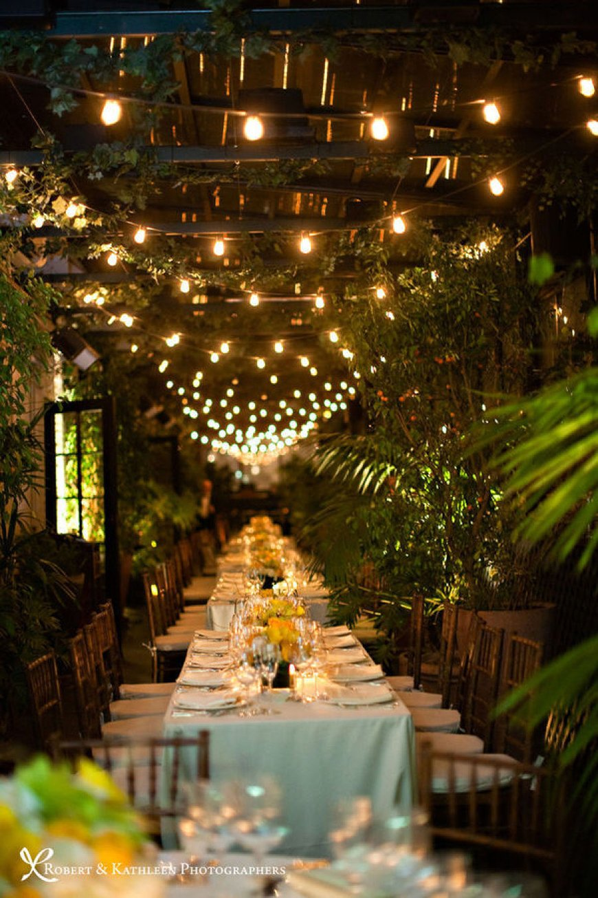 How To Get That Glorious Garden Wedding Theme - The garden decor | CHWV