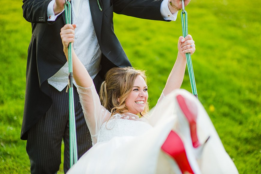 How To Pick The Perfect Wedding Photography Style - Playful | CHWV