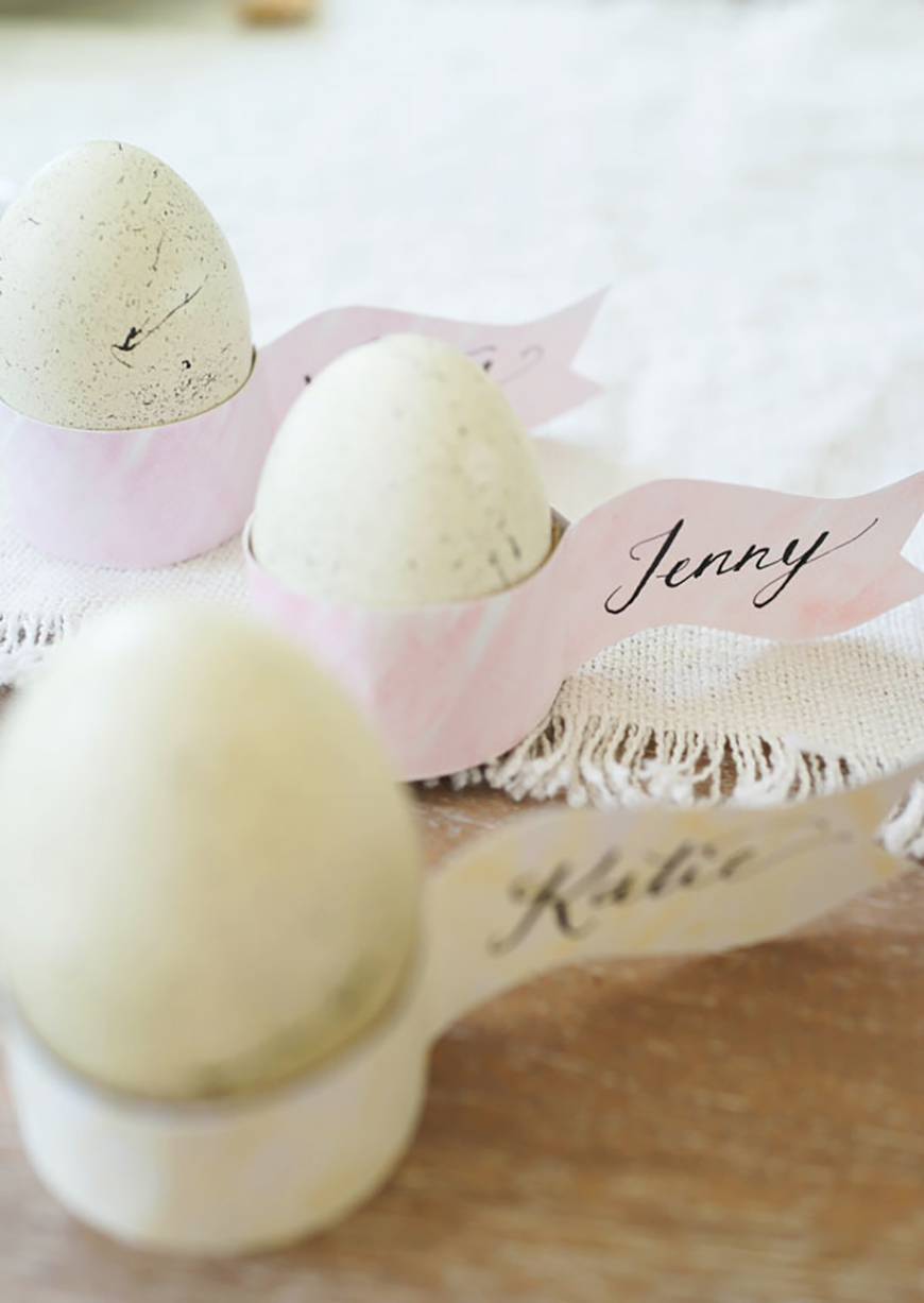 How To Plan The Perfect Easter Wedding - Wedding details & DIYs | CHWV