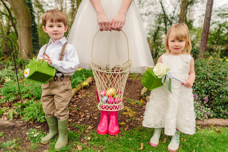 How To Plan The Perfect Easter Wedding - Wedding details & DIYs   CHWV