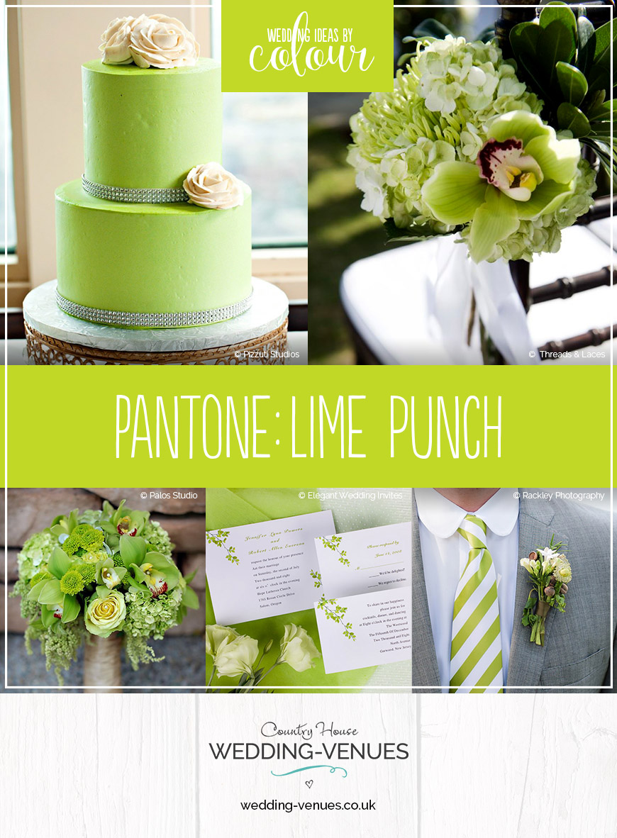 Wedding Ideas By Pantone Colour: Lime Punch | CHWV
