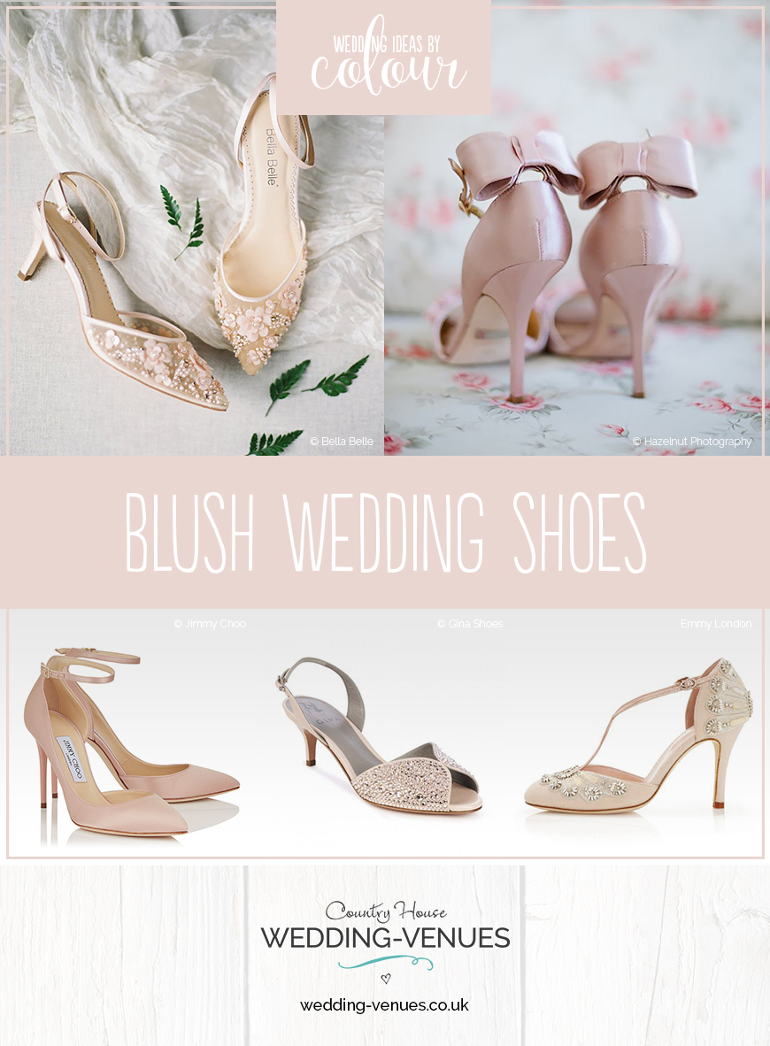 fd3dd1d4260 Wedding Ideas By Colour  Blush Wedding Shoes