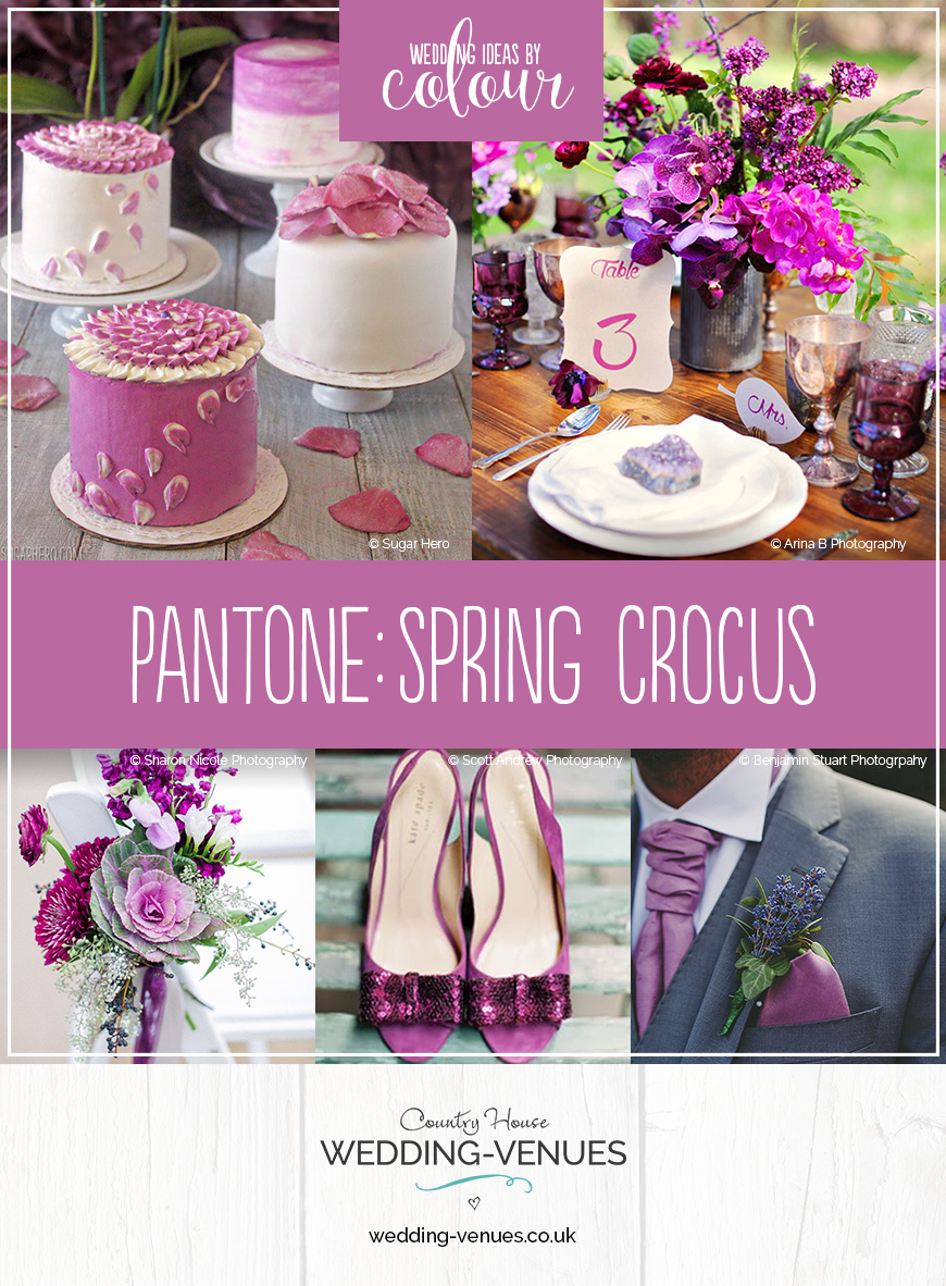 Wedding Ideas By Pantone Colour: Spring Crocus | CHWV