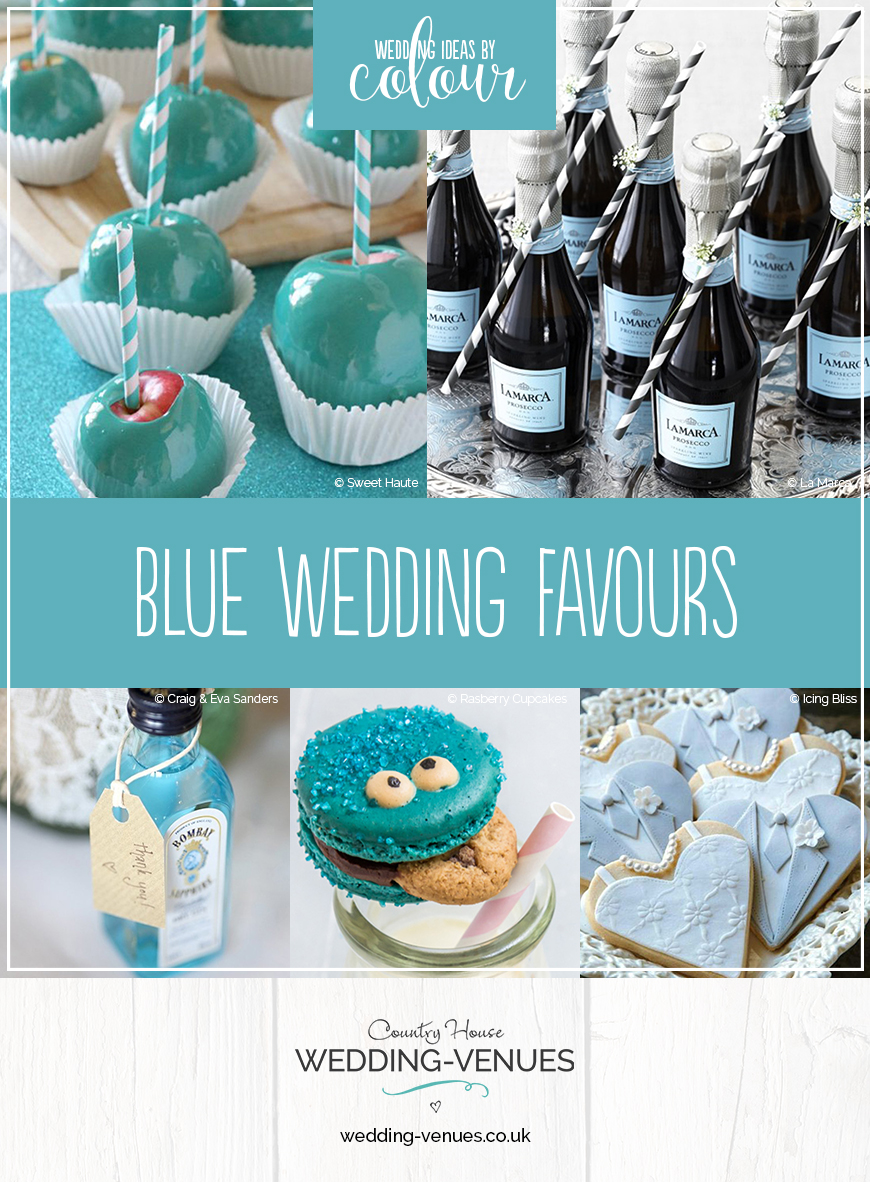 Blue Wedding Favours Wedding Ideas By Colour Chwv