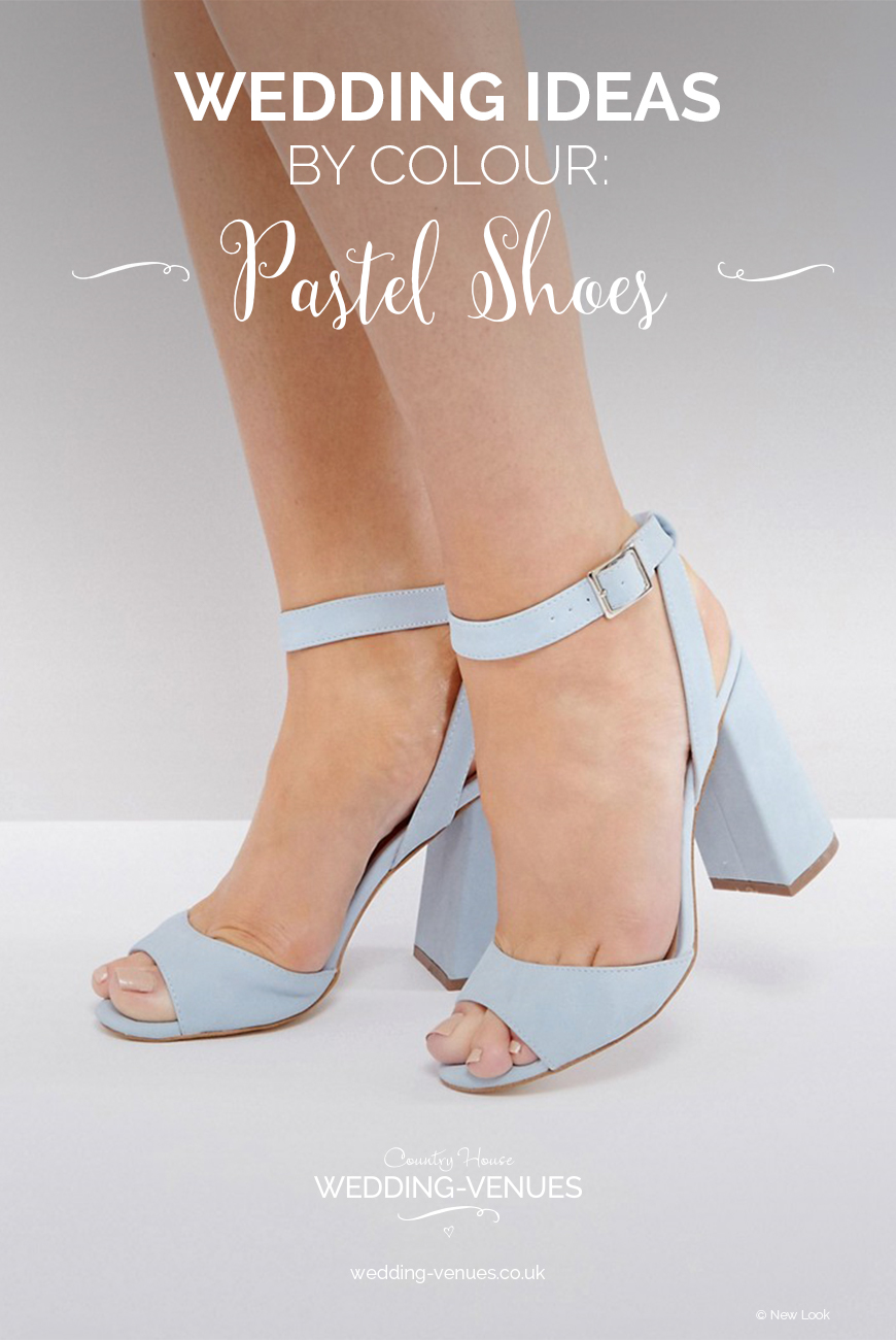 Wedding Ideas By Colour: Pastel Wedding Shoes | CHWV