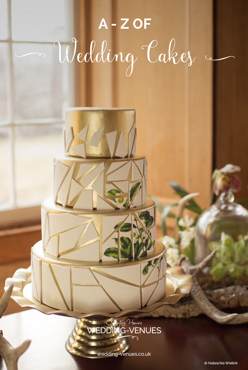A-Z of Wedding Cakes | CHWV