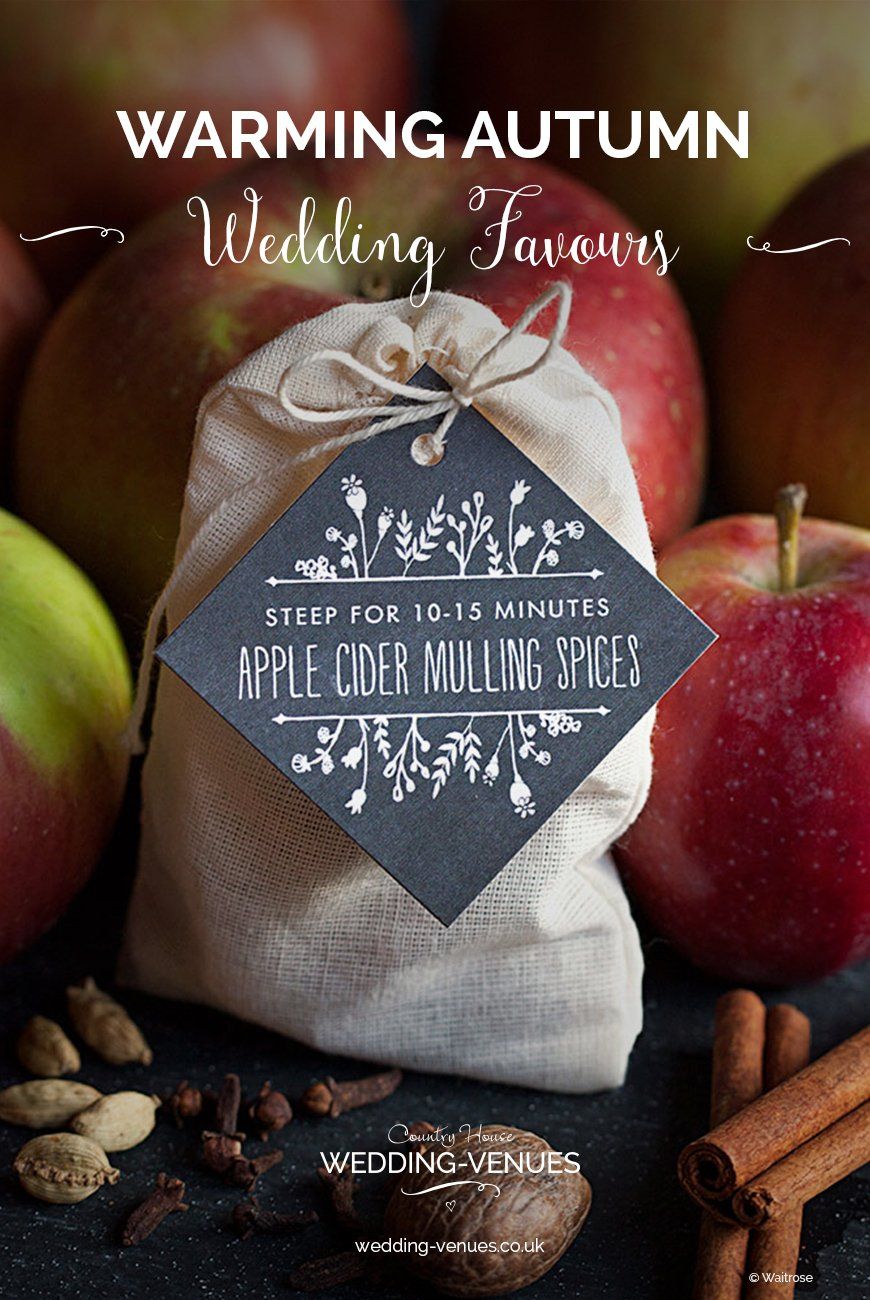 Warming Autumn Wedding Favours To Wow Your Guests | CHWV