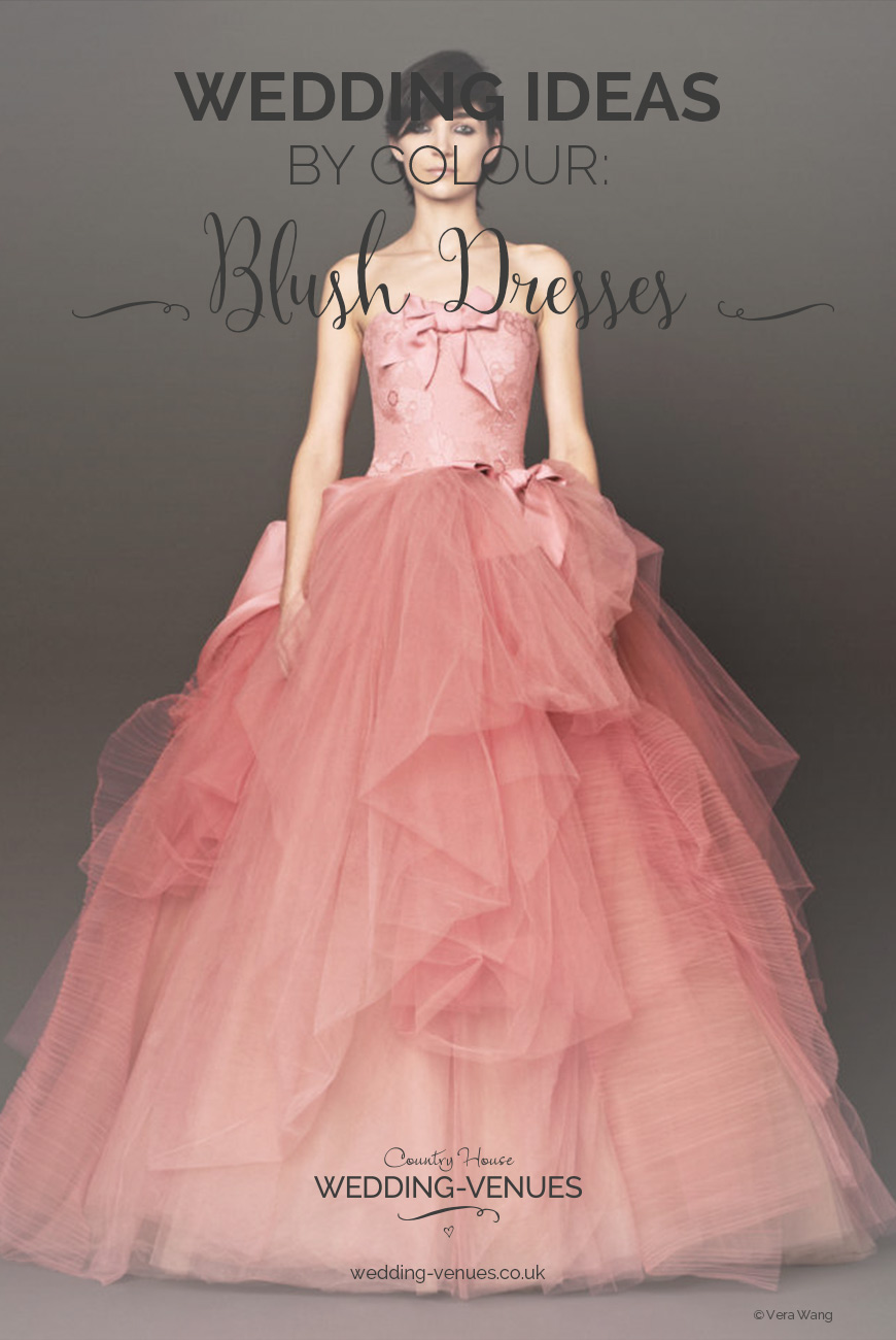 Blush Wedding Dresses | Wedding Ideas By Colour | CHWV