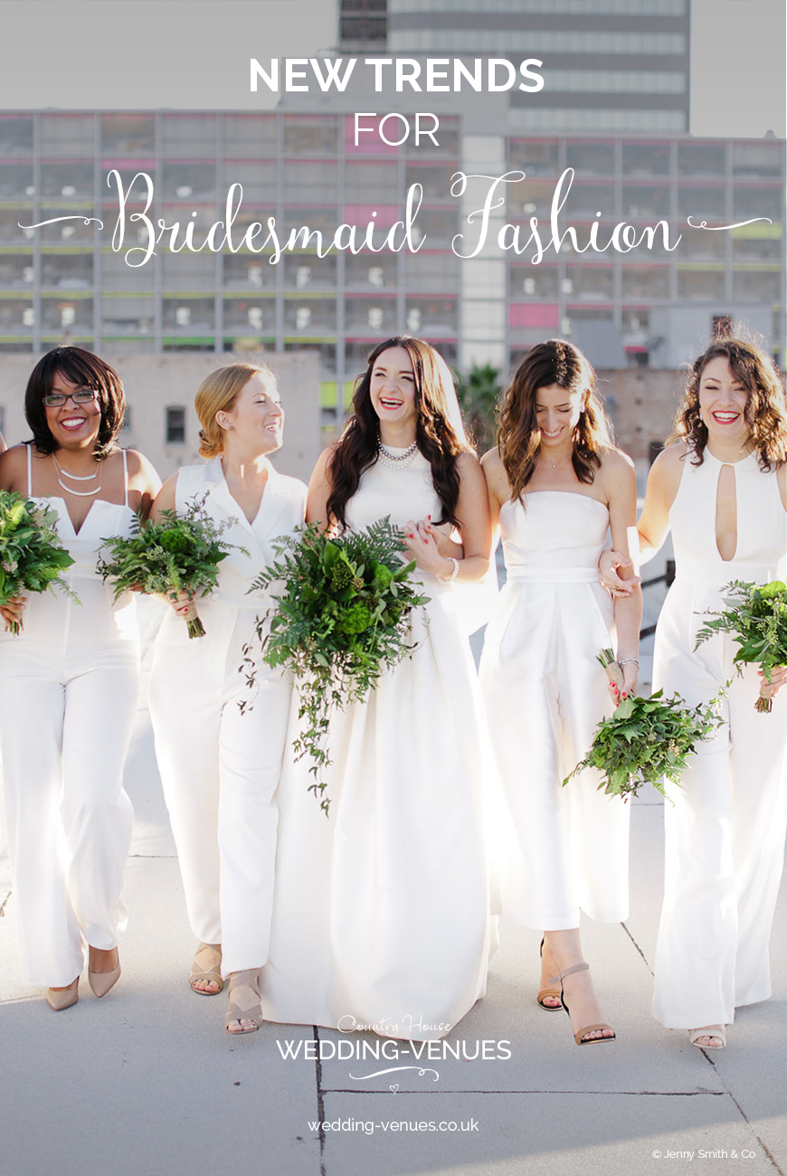 New Trends For Bridesmaid Fashion | CHWV