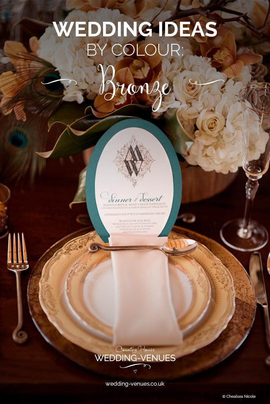 Wedding Ideas By Colour: Bronze Wedding Theme | CHWV