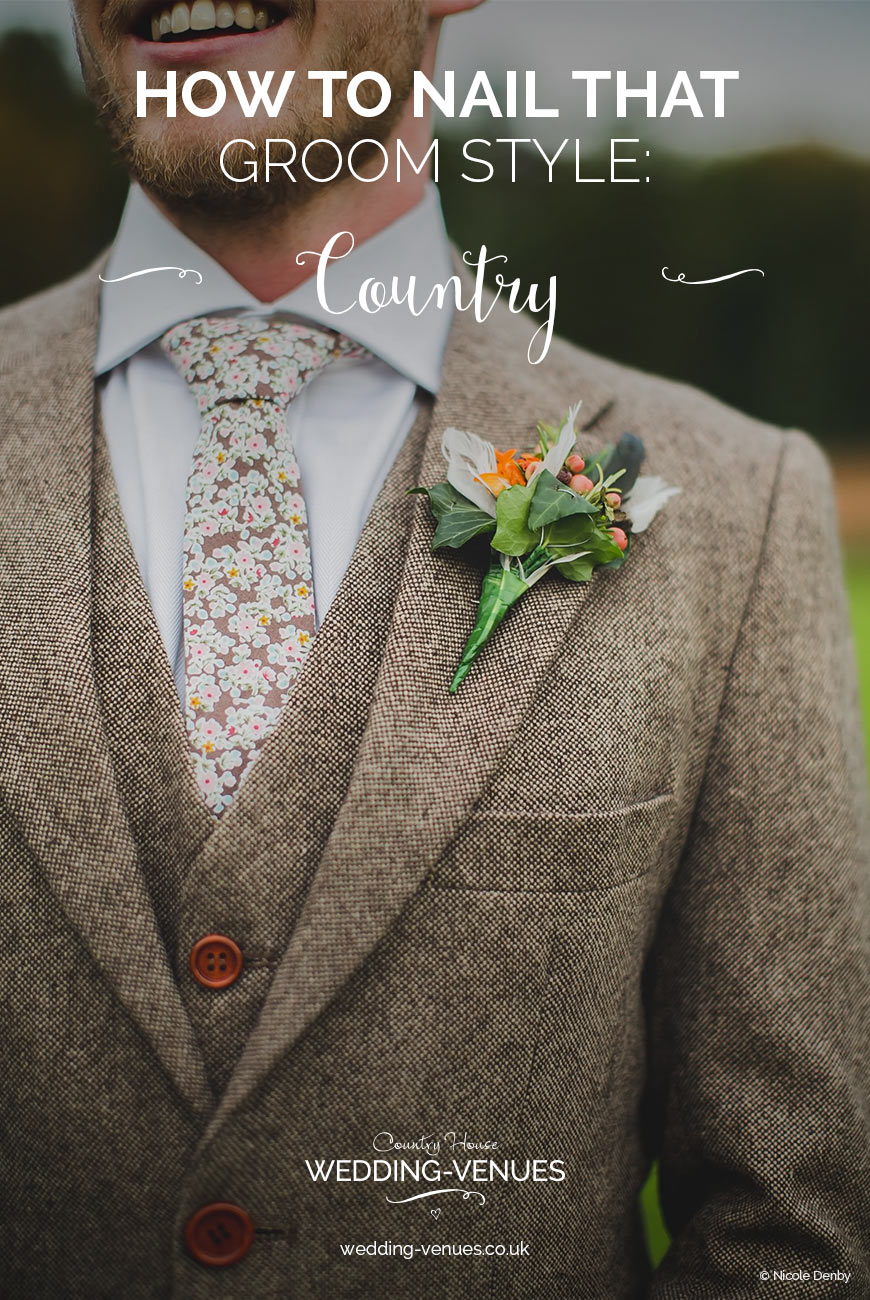 How To Nail That Country Groom Style