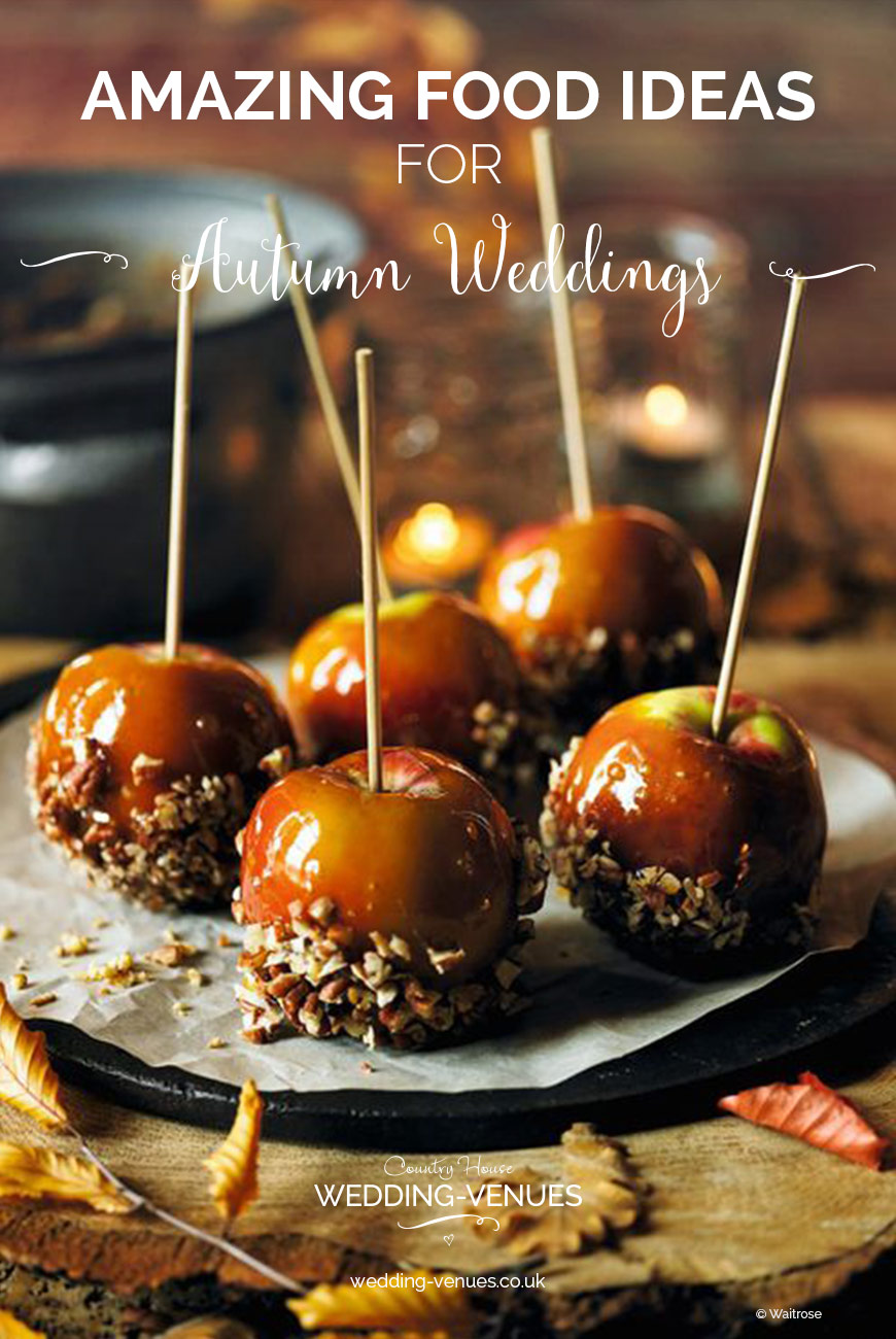 Dining In The Dark London >> Amazing Autumn Wedding Food Ideas | CHWV