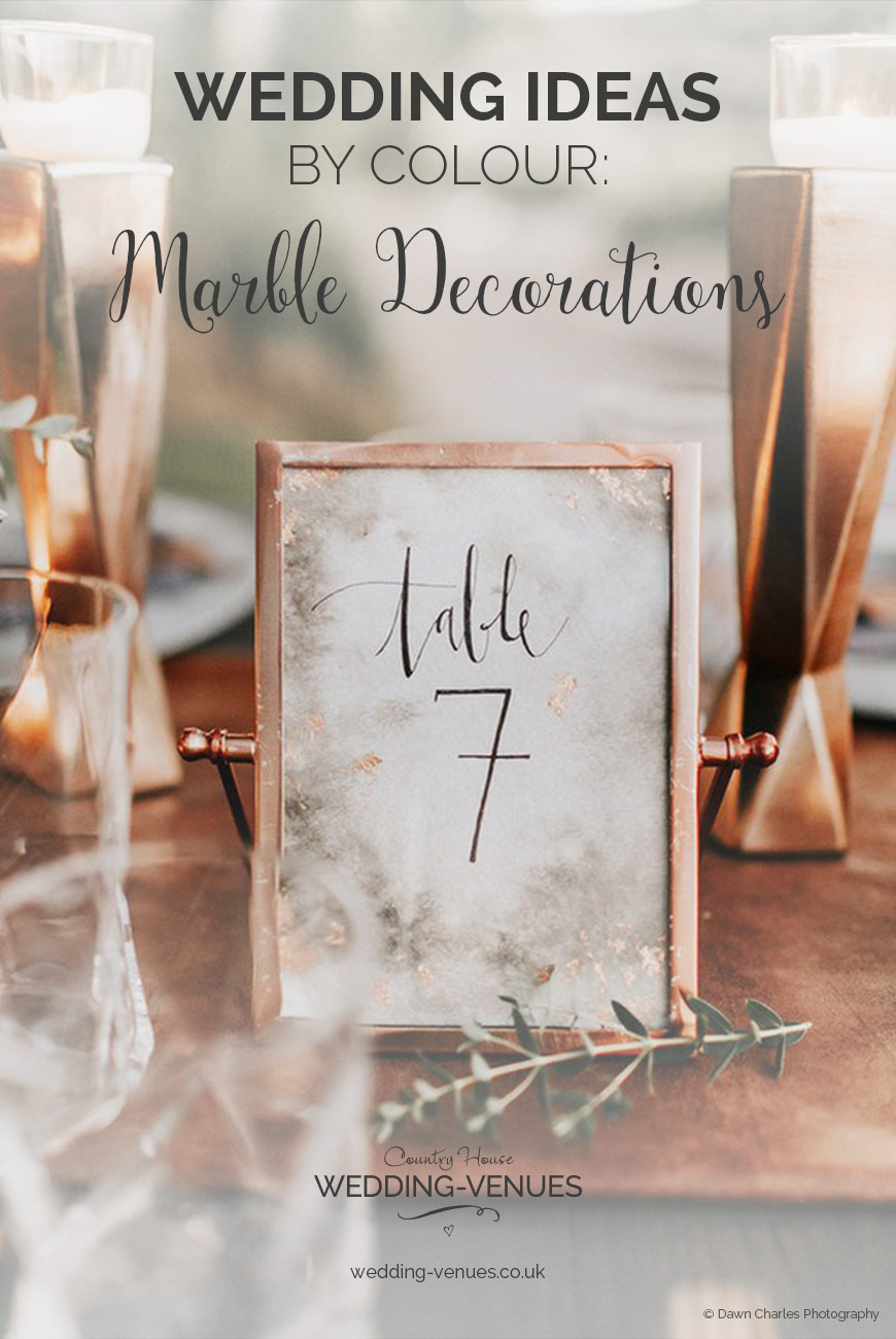 Marble Wedding Decorations Wedding Ideas By Colour Chwv