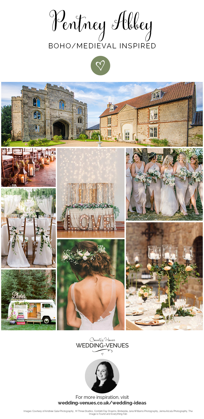 Our Venue Specialist's Perfect Wedding At Pentney Abbey | CHWV