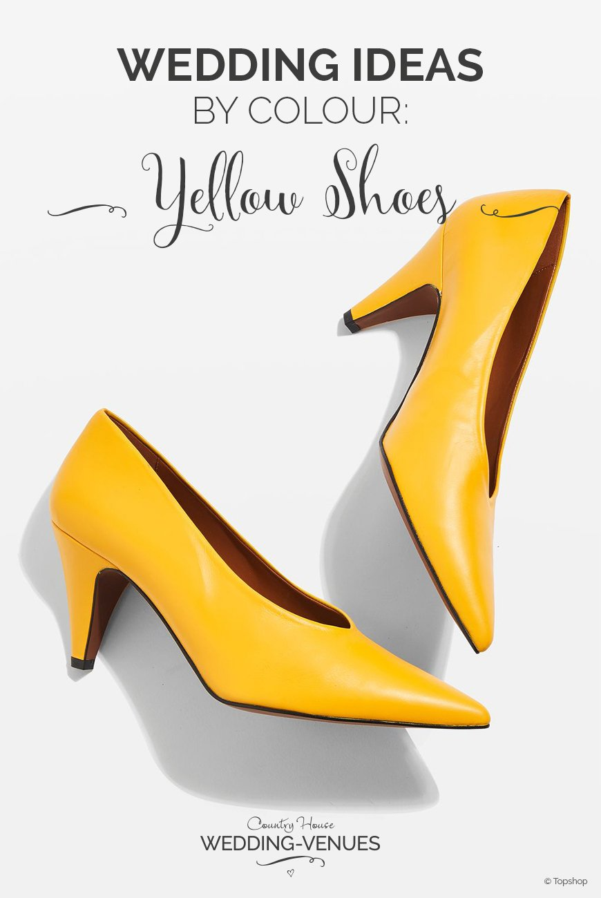 Weddings Ideas by Colour: Yellow Wedding Shoes | CHWV