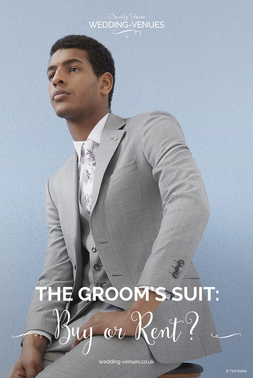 The Groom\'s Suit: Should You Buy Or Rent?